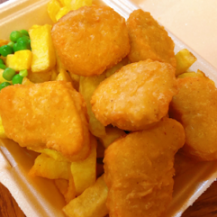 145a. Chicken Nuggets Meal (6)